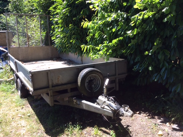 2008 USED TRAILER . COMMERCIAL TRAILER