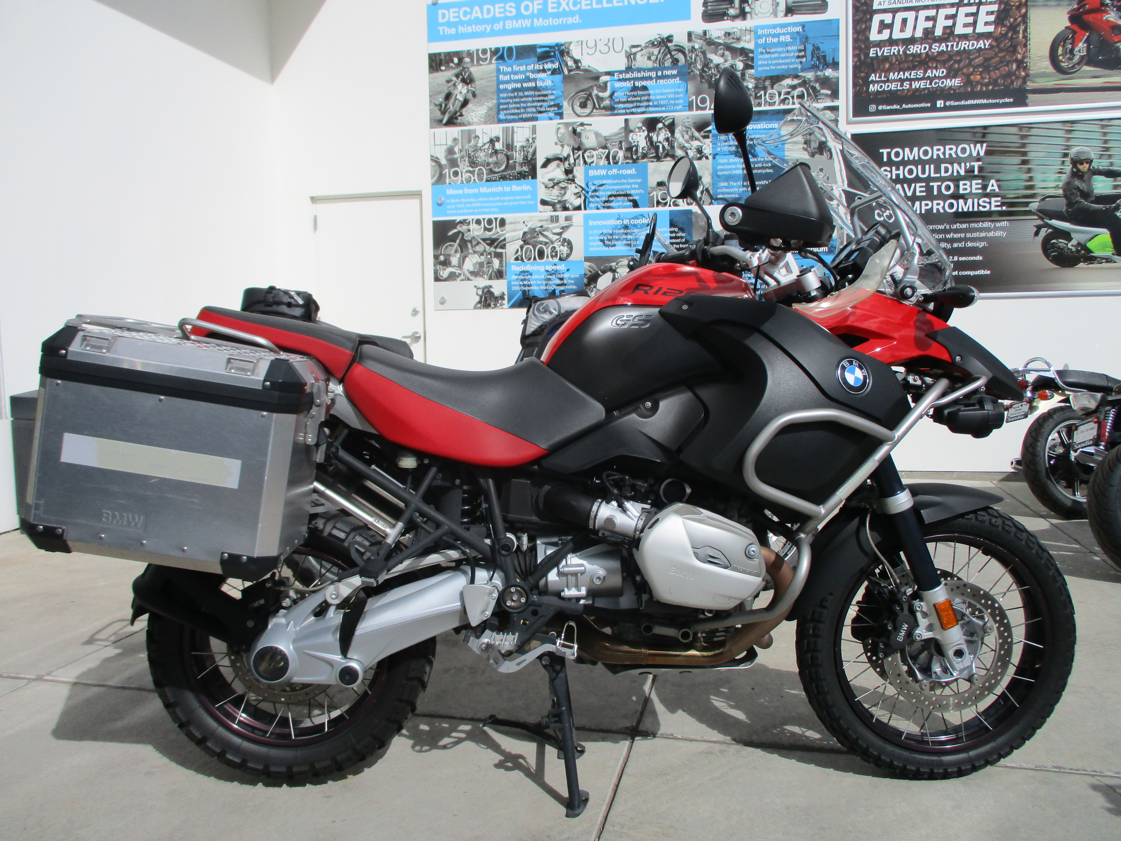 Pre-Owned Motorcycle Inventory - R1200GSA - Sandia BMW ...