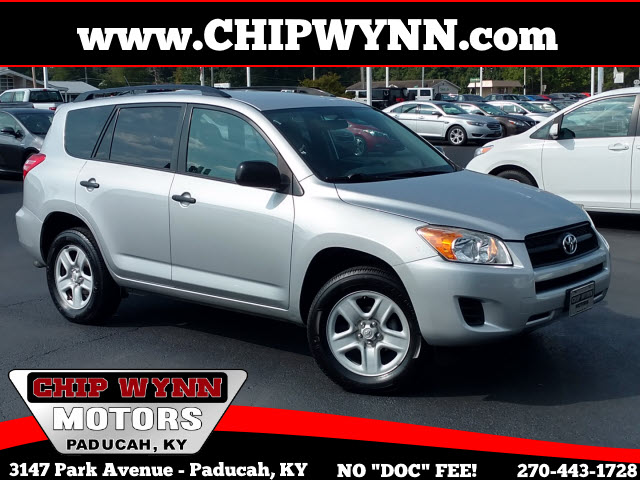 2010 Toyota RAV4 4WD 4dr 4-cyl 4-Spd AT