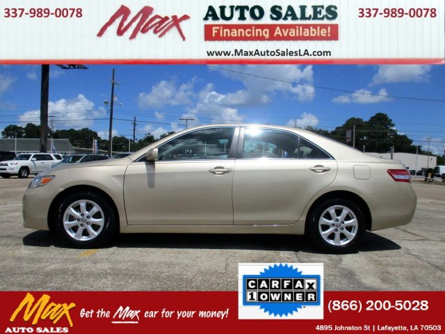 used 2011 toyota camry le for sale in lafayette la. Black Bedroom Furniture Sets. Home Design Ideas