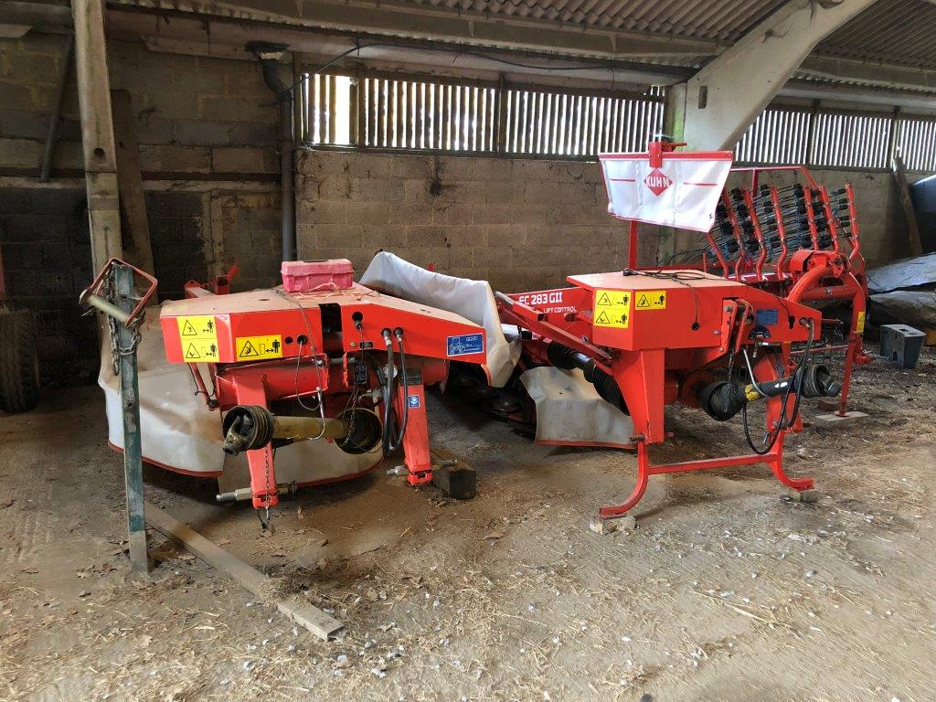 2011 USED MOWER KUHN MOWER CONDITIONER