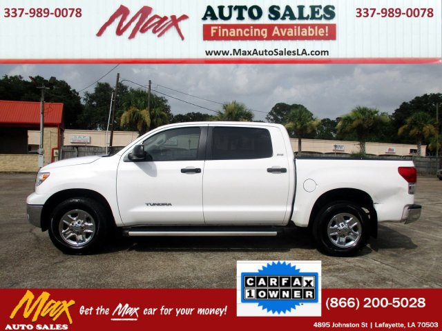 used 2012 toyota tundra 2wd truck crew 2wd v8 4 6 g truck for sale in lafayette la. Black Bedroom Furniture Sets. Home Design Ideas