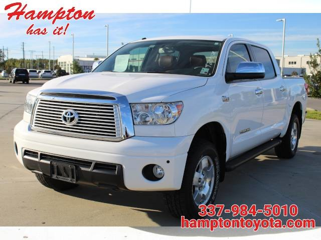 2013 Toyota Tundra 4WD Truck CrewMax 5.7L FFV V8 6-Spd AT LTD