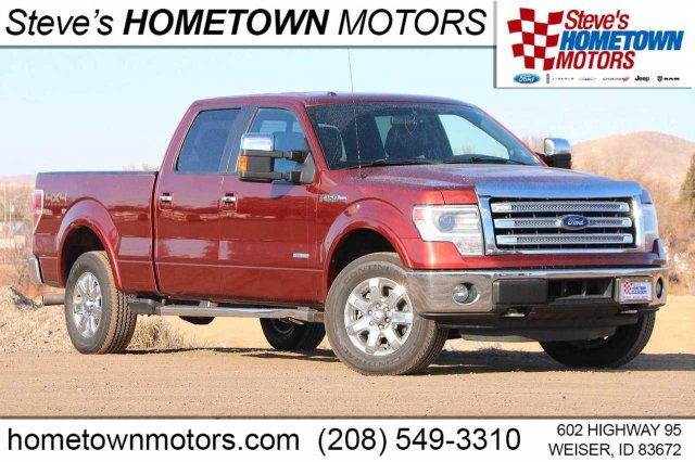 "2014 Ford F-150 4WD SuperCrew 157"" Lariat"