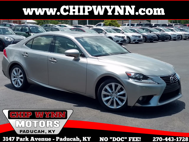 2014 Lexus IS 250 4dr Sport Sdn Auto RWD