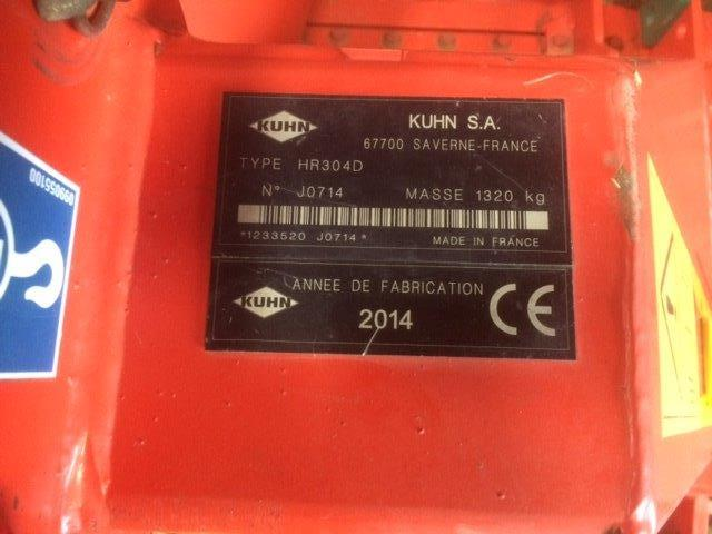2014 USED IMPLEMENT KUHN POWER HARROW