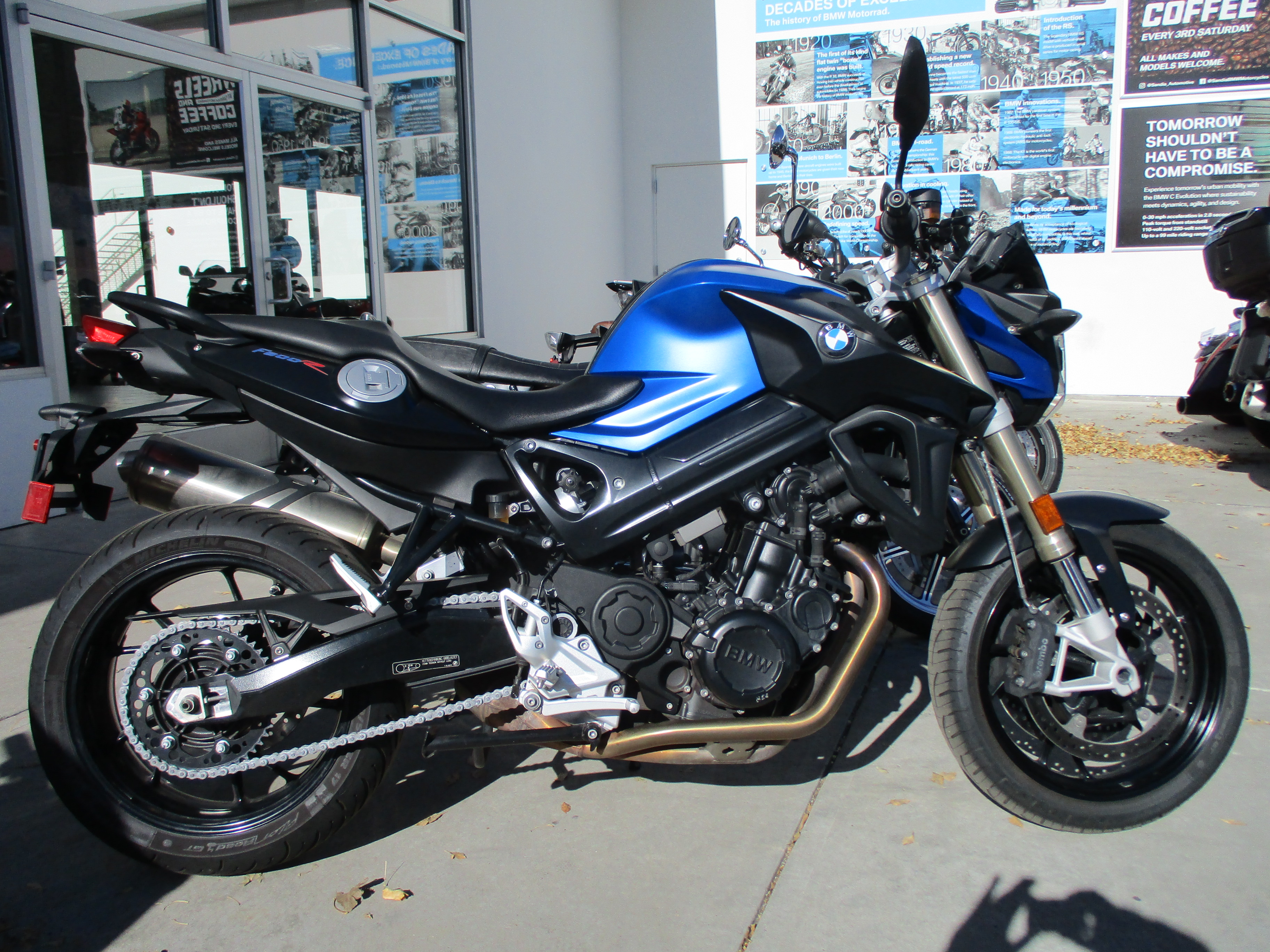 2015 BMW MOTORCYCLES F800R