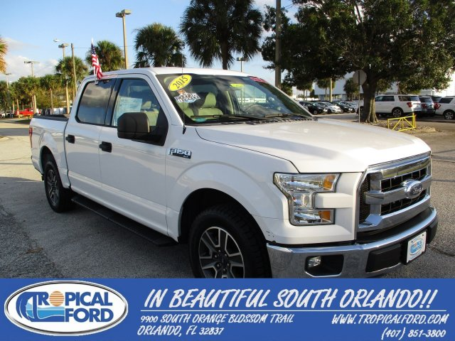 "2015 Ford F-150 2WD SuperCrew 145"" XLT"
