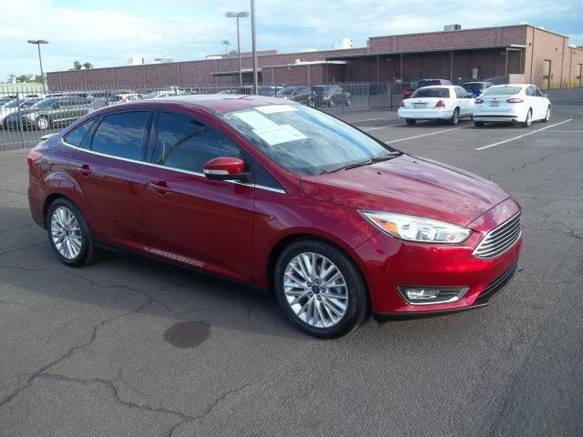 2015 Ford Focus 4dr Sdn Titanium & Used Cars Trucks and SUVs in Phoenix | Sanderson Ford | Glendale AZ markmcfarlin.com