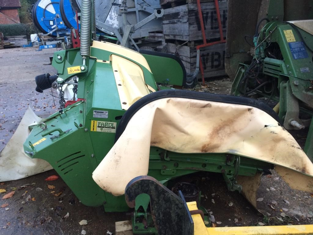 2015 USED MOWER KRONE CV MOWER CONDITIONER