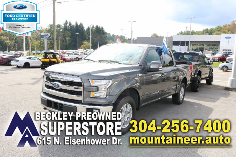 2016 Ford F 150 4wd Supercrew 145 Lariat