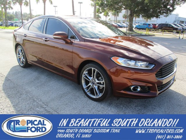 2016 Ford Fusion 4dr Sdn Anium Fwd