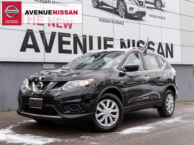 2016 Nissan Rogue AWD 4dr S