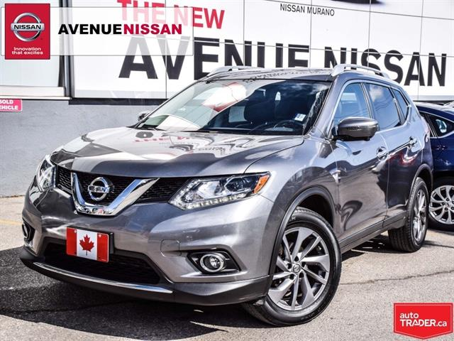 2016 Nissan Rogue ***SL***PREMIUM***LEATHER***LOADED***