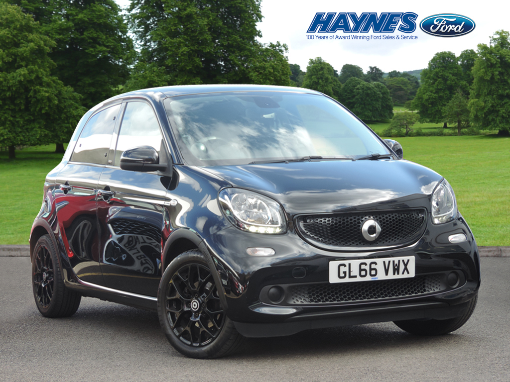 2016 Smart FORFOUR HATCHBACK SPECIAL EDITIONS 0.9 Turbo Black Edition 5dr