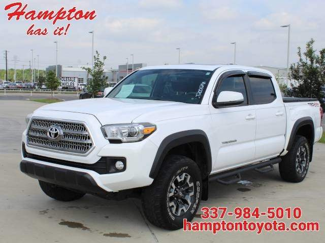 2016 Toyota Tacoma 4WD Double Cab V6 MT TRD Off Road