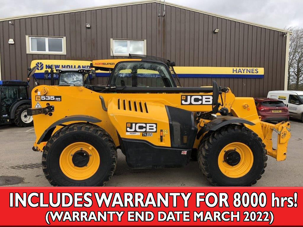 2016 USED JCB TELE J.C.B. LOADALL