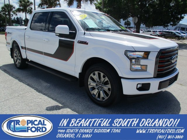 2017 Ford F-150 Lariat 2WD SuperCrew 5.5' Box