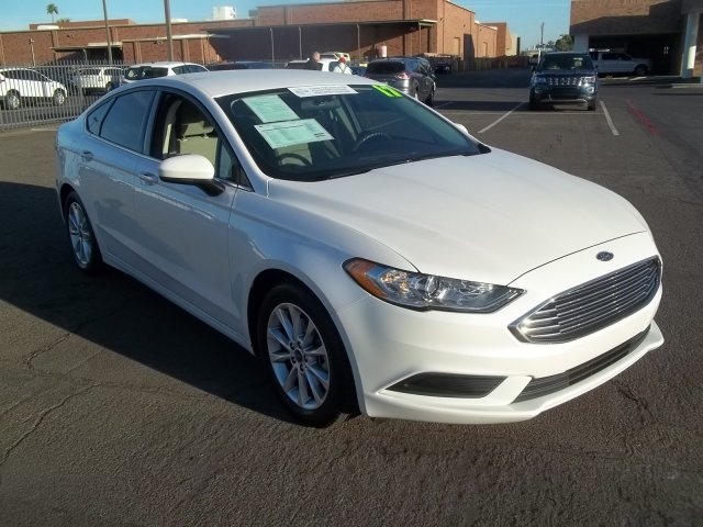 2017 Ford Fusion SE FWD & Used Cars Trucks and SUVs in Phoenix | Sanderson Ford | Glendale AZ markmcfarlin.com