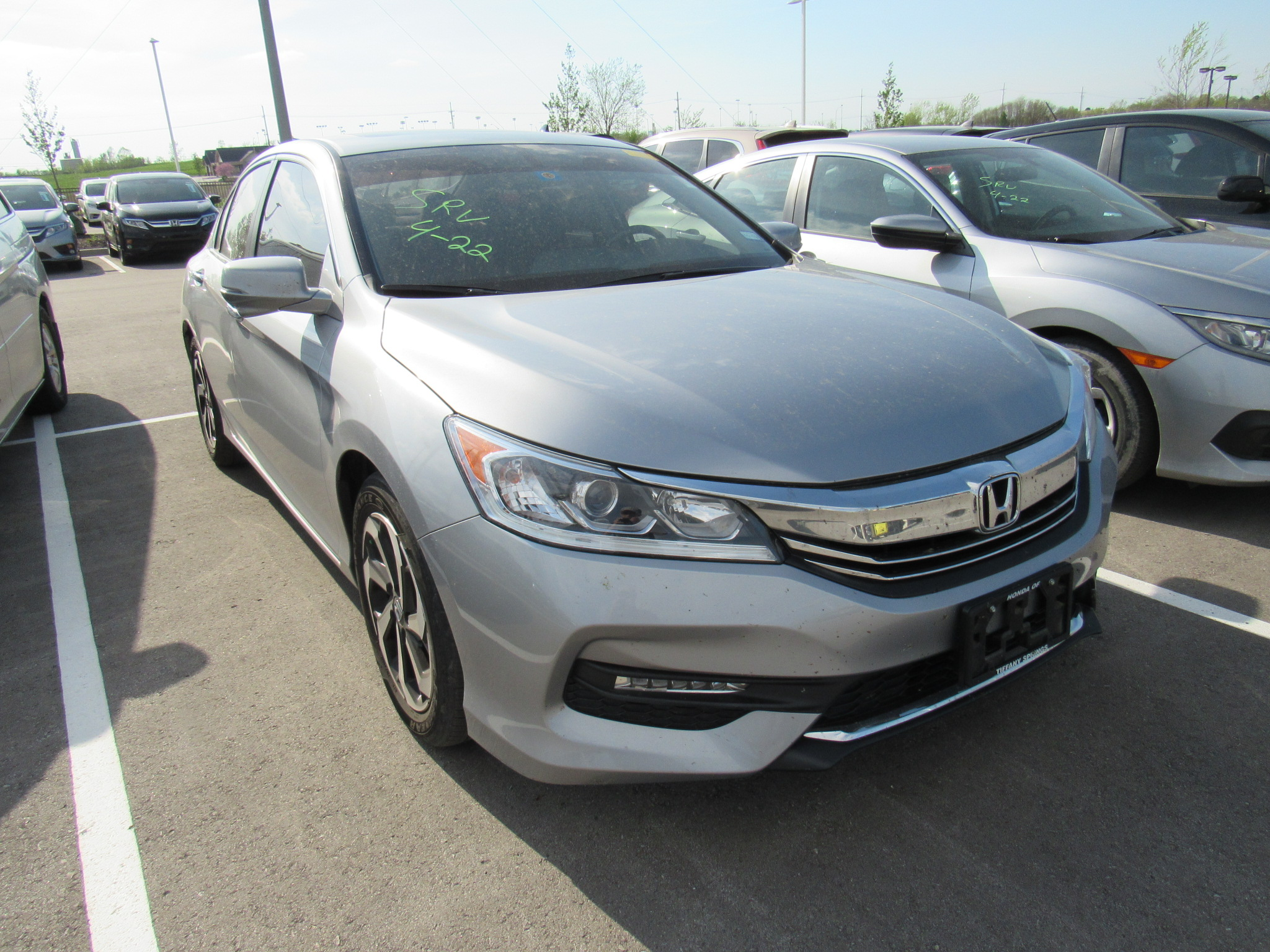 2017 Honda Accord Sedan EX-L CVT