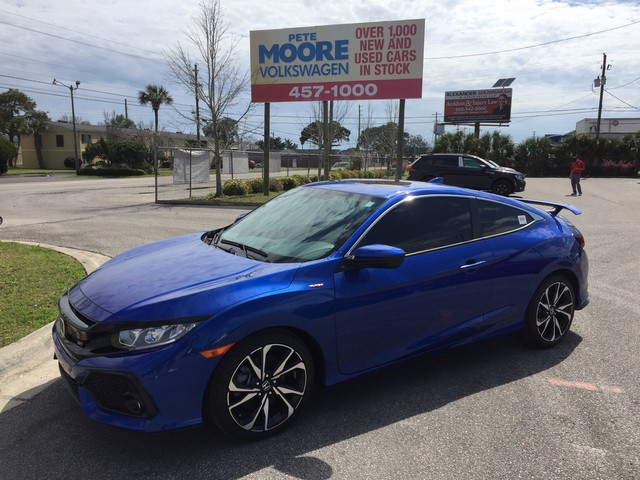 2017 Honda Civic Coupe Si Manual HPT