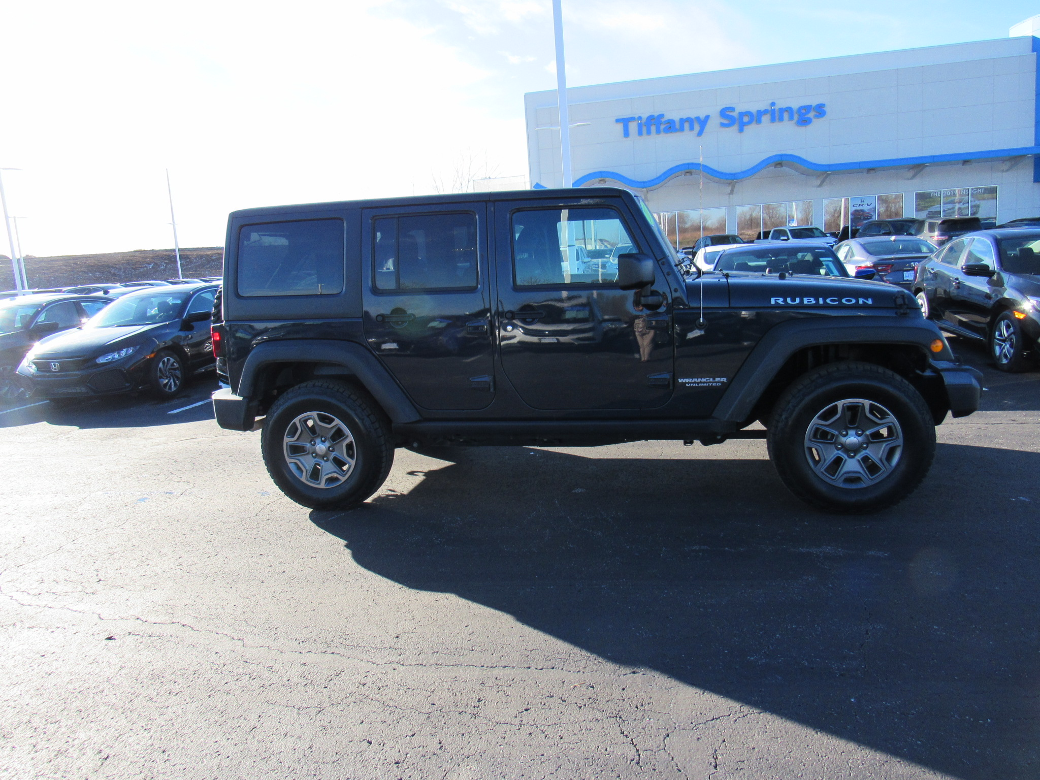 used 2017 jeep wrangler unlimited rubicon recon 4x4 honda of tiffany springs kansas city mo. Black Bedroom Furniture Sets. Home Design Ideas