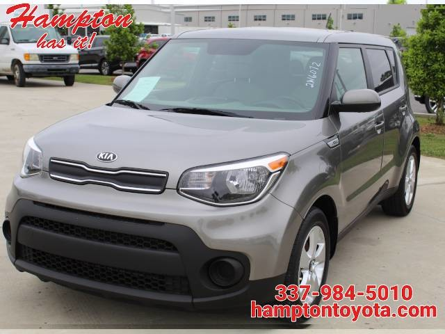 2017 Kia Soul Base Manual
