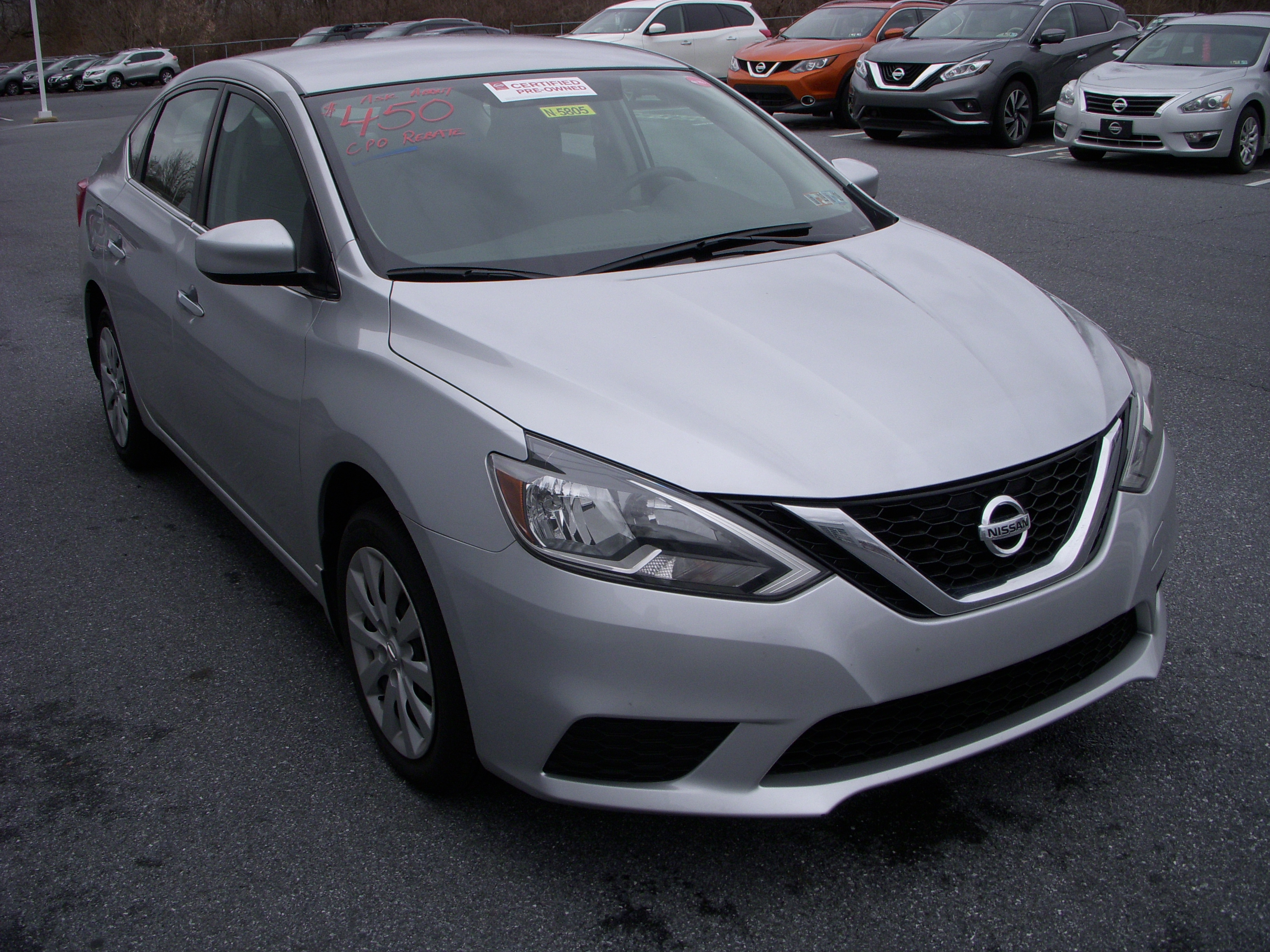 automatic texas details sl certified used sentra jarrell sedan nissan