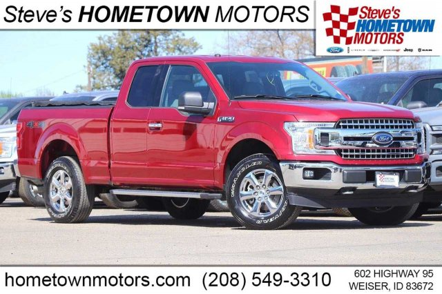 2018 Ford F-150 Lariat 4WD SuperCab 6.5' Box