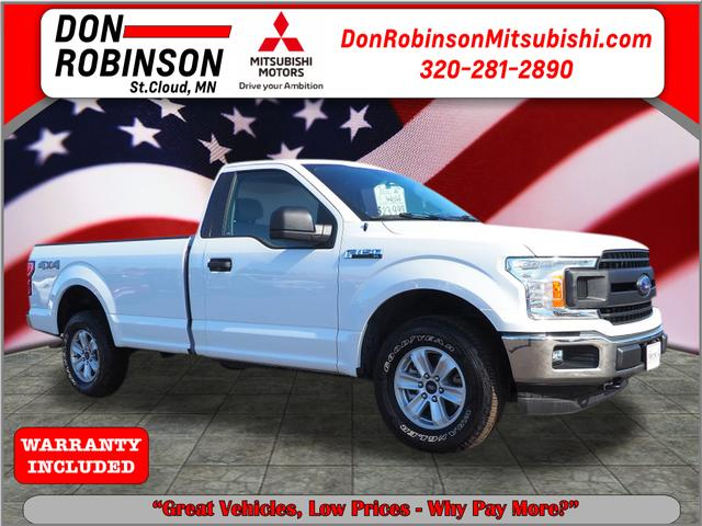 2018 Ford F-150 XL 4WD Reg Cab 8' Box