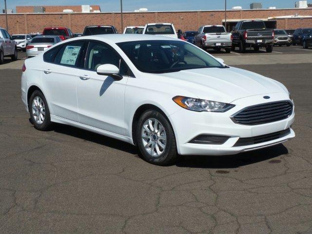 2018 Ford Fusion S FWD & New Ford Cars - Sanderson Ford - Glendale AZ markmcfarlin.com