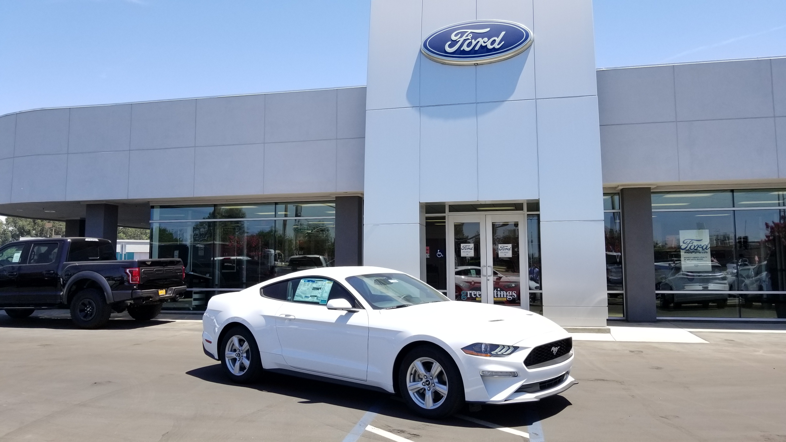 New 2018 Ford Mustang Groppetti Automotive Visalia CA