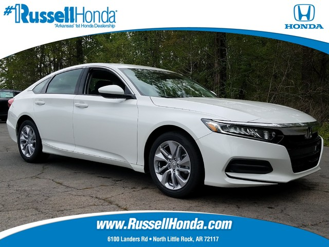new 2018 honda accord sedan lx 1 5t cvt russell honda north little rock ar. Black Bedroom Furniture Sets. Home Design Ideas