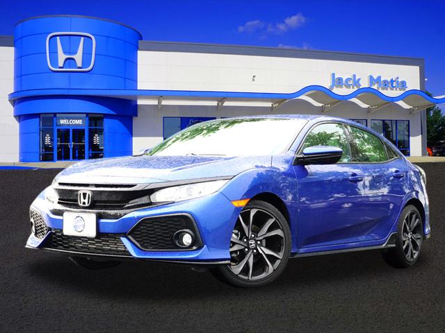 2018 Honda Civic Hatchback Sport CVT