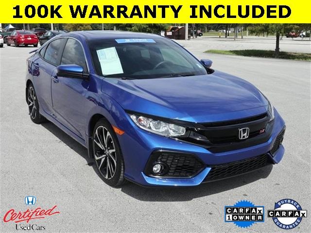 2018 Honda Civic Si Sedan Manual