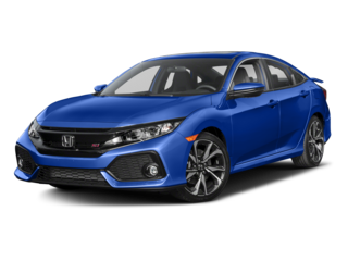 2018 Honda Civic Si Sedan Si Manual Sedan w/High Performance Tires