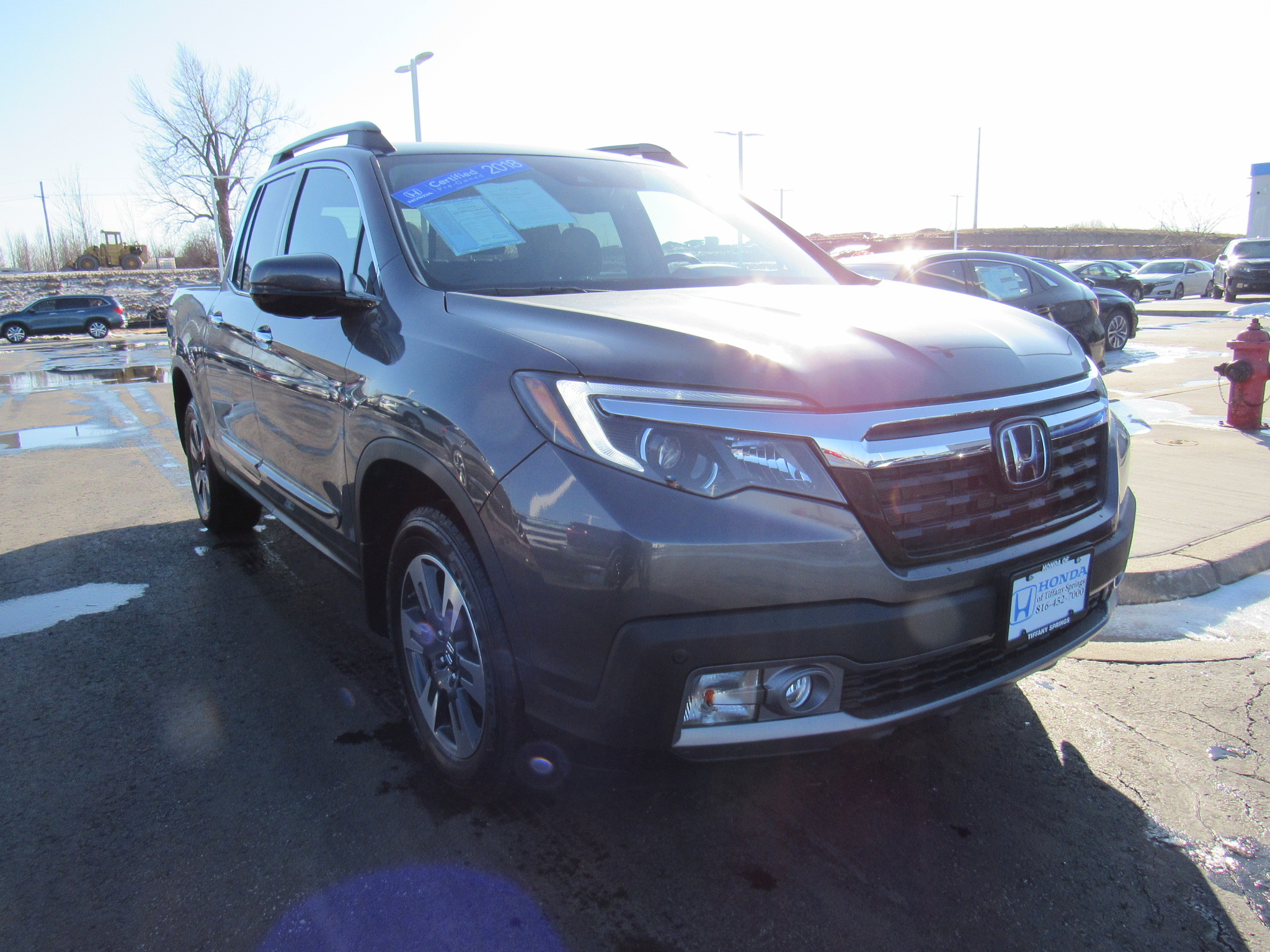 Certified 2018 Honda Ridgeline RTL-E AWD - Honda of Tiffany Springs - Kansas City MO