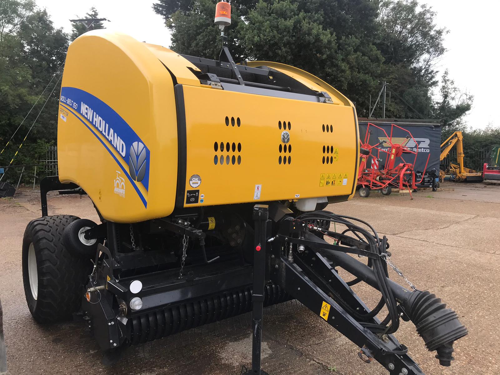2018 NEW BALER NEW HOLLAND ROUND BALER