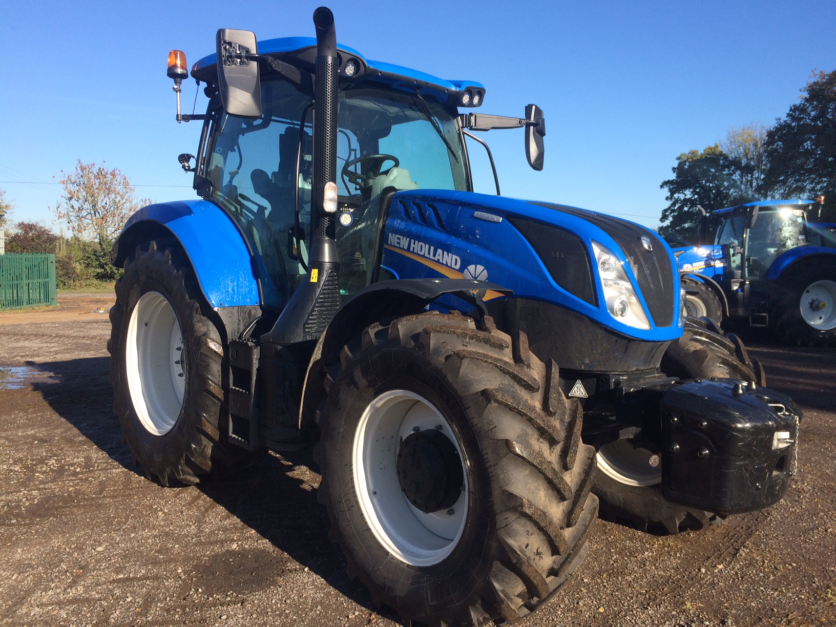 2018 NH TRACTORS NEW HOLLAND 4WD TRACTOR