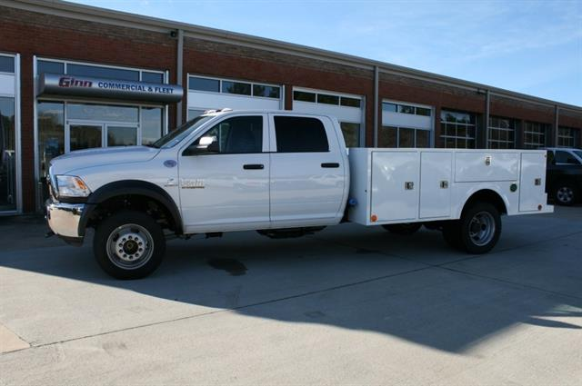 2018 Ram 5500 Chassis Cab Tradesman 4x4 Crew Cab 11' Service Body