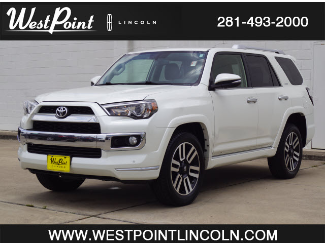 2018 Toyota 4Runner Limited 2WD