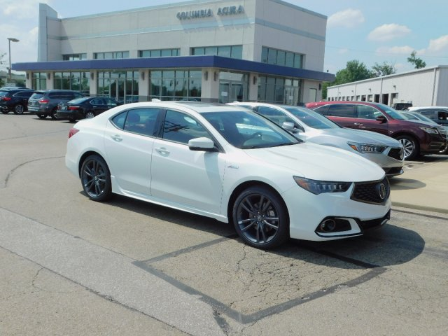2019 Acura TLX 3.5L FWD w/A-SPEC Pkg Red Leather