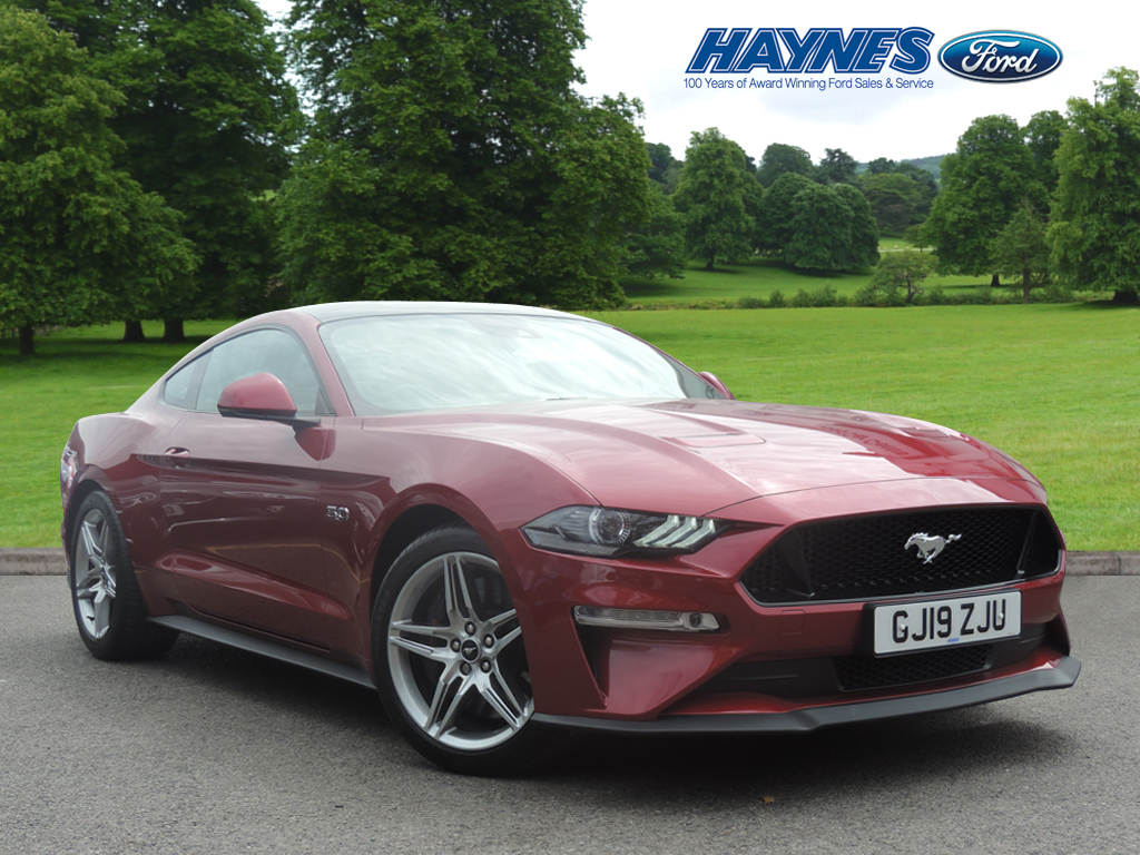 2019 Ford MUSTANG FASTBACK 5.0 V8 GT 2dr Auto