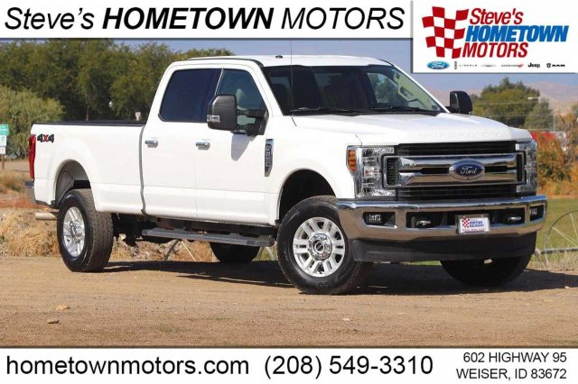 2019 Ford Super Duty F-250 SRW XLT 4WD Crew Cab 8' Box