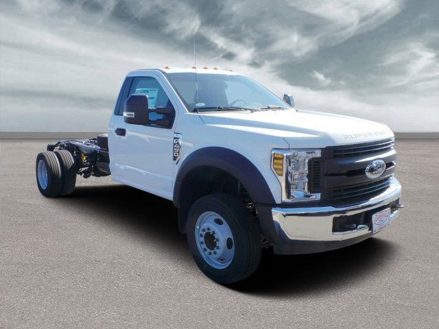 "2019 Ford Super Duty F-450 DRW XL 2WD Reg Cab 169"" WB 84"" CA"