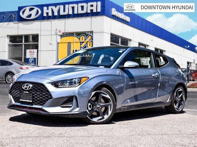2019 Hyundai Veloster Turbo Manual