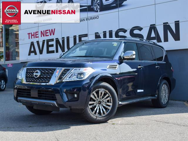 2019 Nissan Armada *Platinum*Captain Chair Reserve*