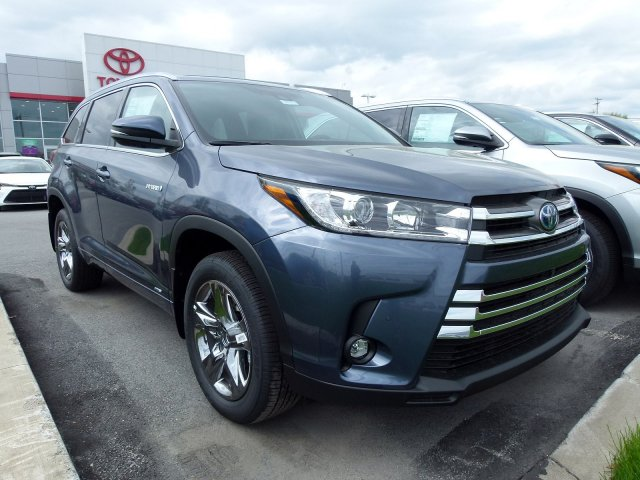 Toyota Highlander Colors >> New Inventory 2019 Toyota Highlander Hybrid Limited