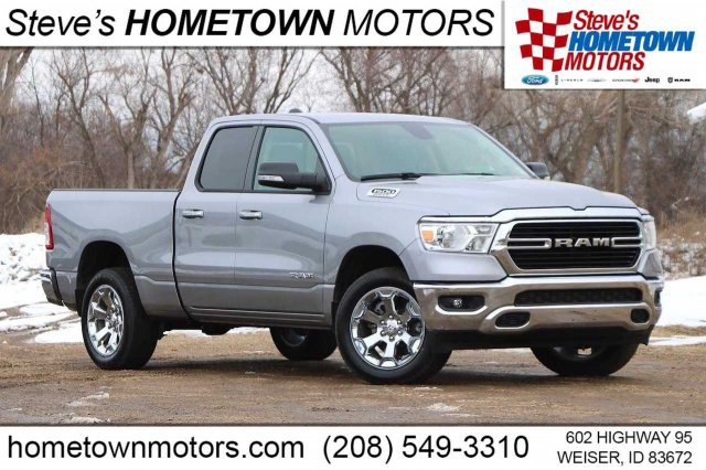 "2020 Ram 1500 Big Horn 4x4 Quad Cab 6'4"" Box"