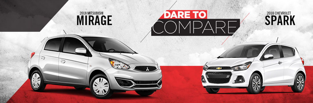 2018 Mirage vs. 2018 Spark | Tom Hodges Mitsubishi | Hollywood, MD